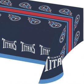 NFL Tennessee Titans Plastic Table Cover 54