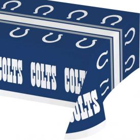 NFL Indianapolis Colts Plastic Table Cover 54