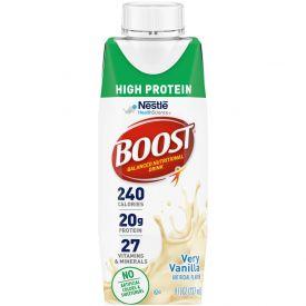 Nestle Boost High Protein Very Vanilla RTD 8oz.