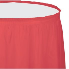 Coral Table Skirt Plastic 14'