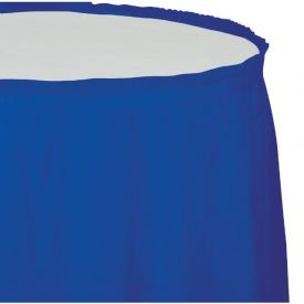 Cobalt Table Skirt Plastic 14'
