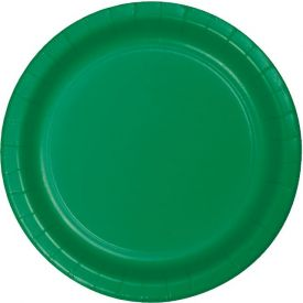 Emerald Green Appetizer or Dessert Paper Plates 7