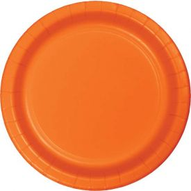 Sunkissed Orange Appetizer, Snack or Dessert Paper Plates 7