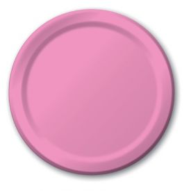 Candy Pink Appetizer or Dessert Paper Plates 7