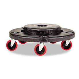 Rubbermaid® Commercial Brute Quiet Dolly, 250lb Cap, 18 x 6