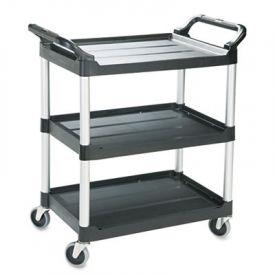 Rubbermaid® Commercial 3-Shelf Service Cart, 18-5/8w x 33-5/8d x 37-3/4h