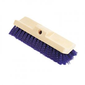 Rubbermaid® Commercial Bi-Level Deck Scrub Brush, Poly Fibers