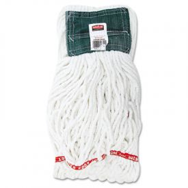 Rubbermaid® Commercial Web FootShrinkless Wet Mop, Cotton/Synthetic, Med