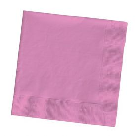 Candy Pink Beverage Napkins, 2-Ply