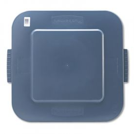 Rubbermaid® Commercial Square Brute® Lid, 26 x 24 x 2 1/5