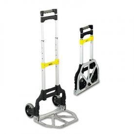 Safco® Stow & Go™ Cart, 110lb Capacity, 15-1/4w x 16d x 39h