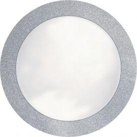 Placemats Silver Glitz Border Round 14