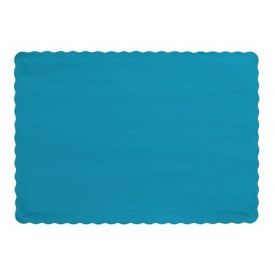 Turquoise Placemats, 9.5 X 13.375