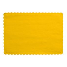 School Bus Yellow Paper Placemats, 9.5 X 13.375