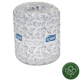 Tork® Advanced Toilet Tissue, 2-Ply Toilet Tissue, White