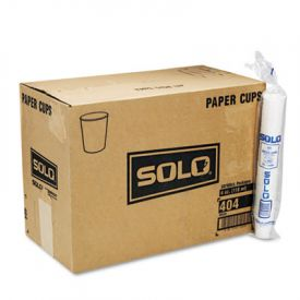 SOLO® Cup White Paper Water Cups, 4oz