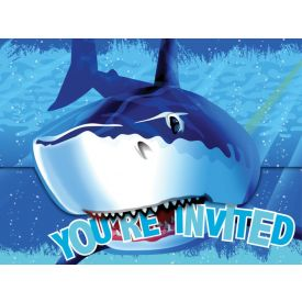 Shark Splash Invitation, Gatefold