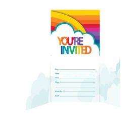 Rainbow Invitation, Gatefold