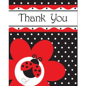 Ladybug Fancy Thank You