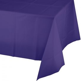 Purple Table Cover, Plastic 54