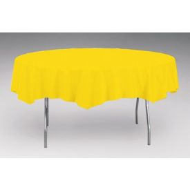 School Bus Yellow Tissue/Poly Table Cover 82