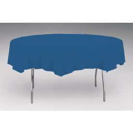 Navy Tissue/Poly Table Cover 82