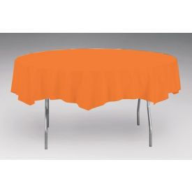 Sunkissed Orange Tissue/Poly Table Cover 82
