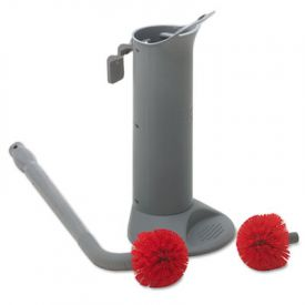 Unger® Ergo Toilet Bowl Brush System with Holder