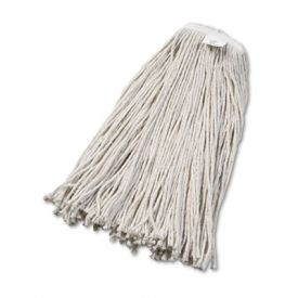 UNISAN Cut-End Wet Mop Heads, Cotton, #32 Size, White