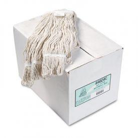 Boardwalk® Pro Loop Web/Tailband Wet Mop Head, Cotton
