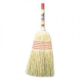 UNISAN Mixed Fiber Maid Broom, Mixed Fiber Bristles, 42