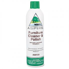 Misty® Aspire Furniture Cleaner & Polish, Lemon Scent, 16 oz. Aerosol
