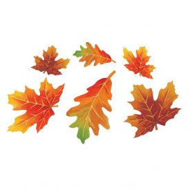 Leaves Cutout Assortment, Paper