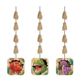 Dino Blast Printed Hanging Cutouts