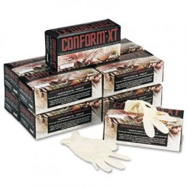 Conform® XT Premium Latex Gloves, Powder-Free, Medium