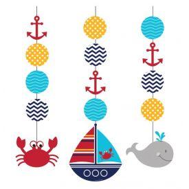 Ahoy Matey! Hanging Cutouts