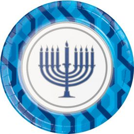 MENORAH LUNCHEON PLATE