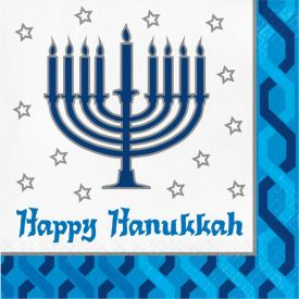 MENORAH LUNCHEON NAPKIN