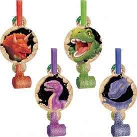 DINOSAUR PARTY BLOWERS