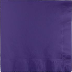 PURPLE LUNCH NAPKINS 2-PLY