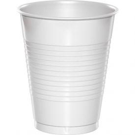 WHITE 16 OZ PLASTIC CUPS **Unavailable** Check #28000081.