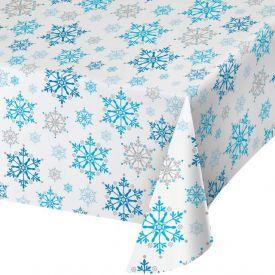 SNOW PRINCESS PLASTIC TABLECLOTH