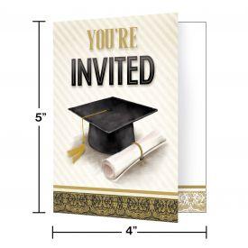 CLASSIC GRADUATION INVITATIONS