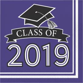 CLASS OF 2019 NAPKINS