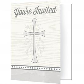 DIVINITY SILVER INVITATIONS