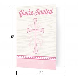 DIVINITY PINK INVITATIONS
