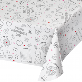 VALENTINE ACTIVITY PAPER TABLE COVERS