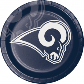 LOS ANGELES RAMS PAPER PLATES