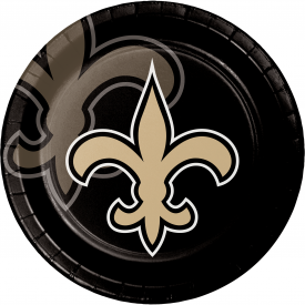 NEW ORLEANS SAINTS PAPER PLATES