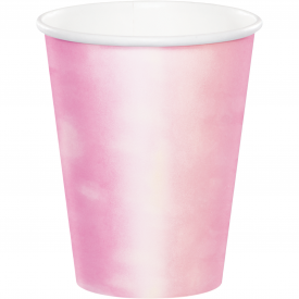 IRIDESCENT PARTY HOT/COLD CUPS 9 oz